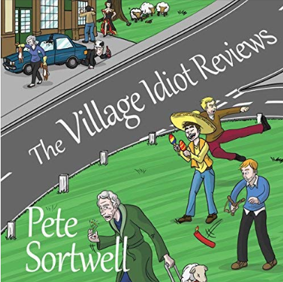 Village Idiot reviews Audiobook – Drunk vicar character – Narrated by Chris Dabbs