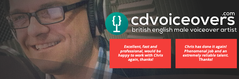 Chris Dabbs British Male Voiceover Artist
