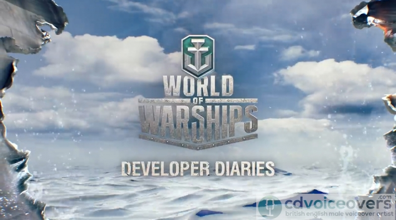 World of Warships - Chris Dabbs Voiceover Artist Non English language dubbing www.cdvoiceovers.com